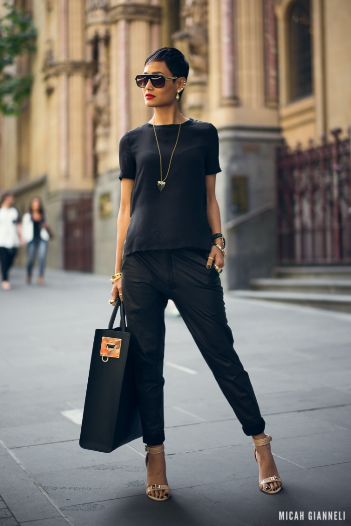 Micah Gianneli_Best top personal style fashion blog_All black ed